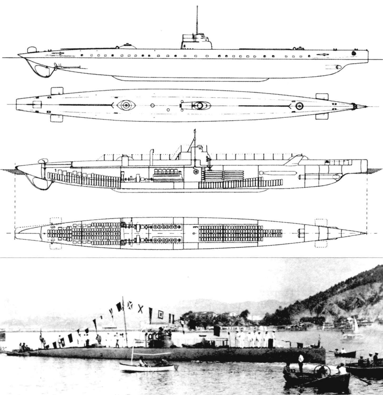Подводная лодка «Медуза», Италия, 1912 г.