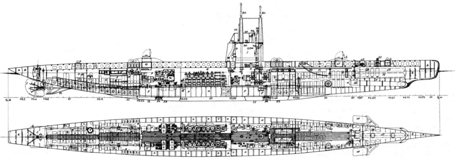 Подводная лодка «F-1», Италия, 1916 г.