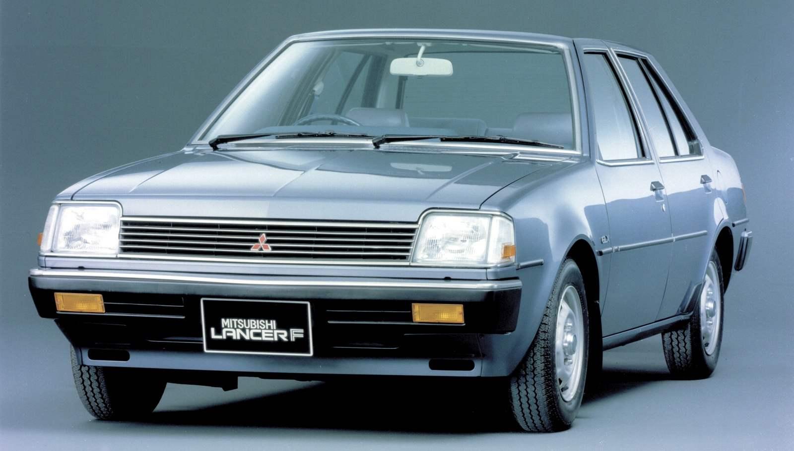 Mitsubishi Lancer третьего поколения впервые получил передний привод (1982 г.)