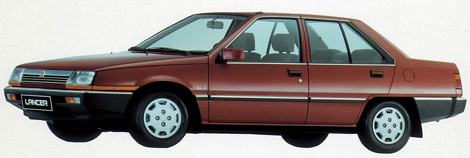 Mitsubishi Lancer of the fourth generation (1983)