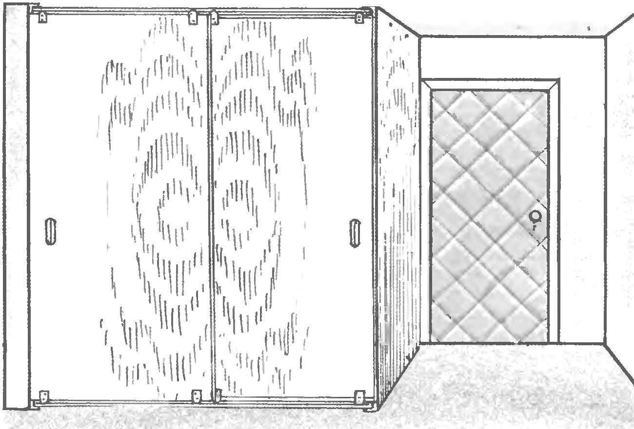 Общий вид шкафа-купе