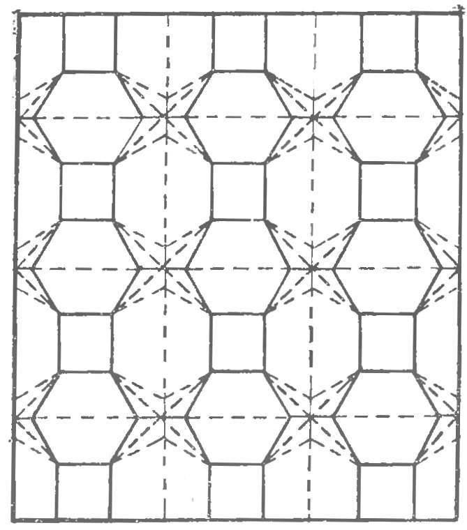 Рис. 4. Построение сложной поверхности