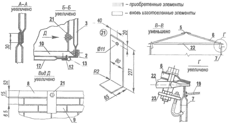 Гараж из панелей отопительных радиаторов