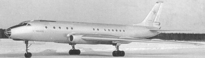 Ту-107 во время государственных испытаний в НИИ ВВС