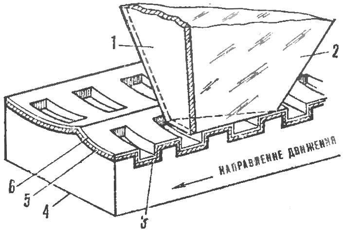 Рис. 4. Структура диска емкостного видеопроигрывателя