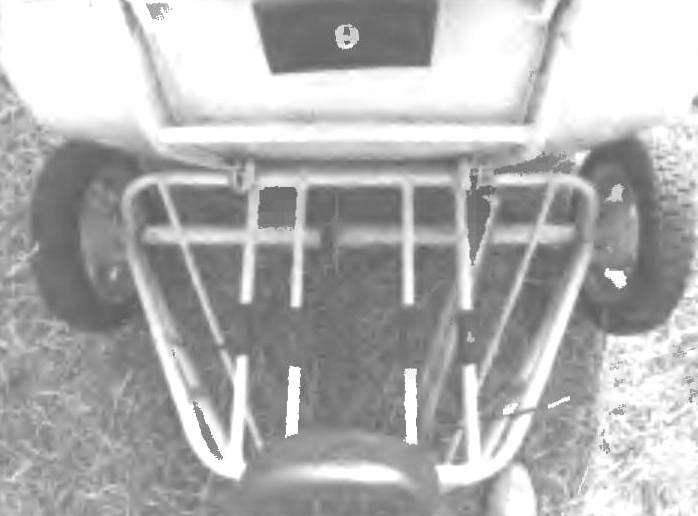 Грузовой модуль (кузов опрокинут)