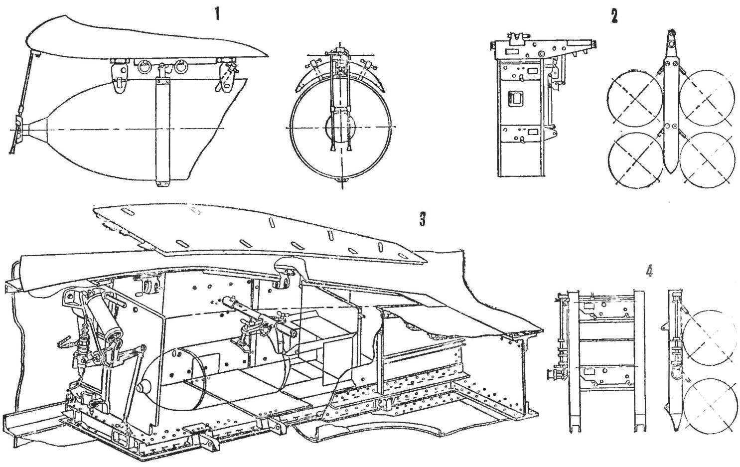Fig. 1. Bomb racks
