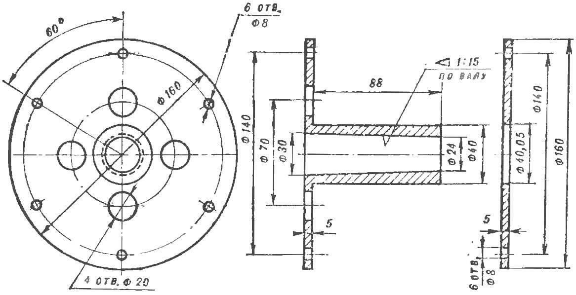 Fig. 6. The hub of the screw