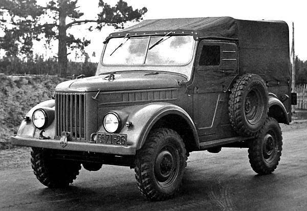 Полноприводной вездеход ГАЗ-69 А выпуска 1952 года