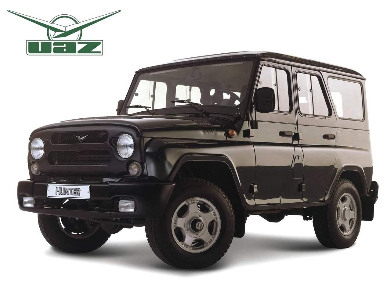 Современный UAZ-HUNTER представляет собой идеальное воплощение идеи культового внедорожника УАЗ-469