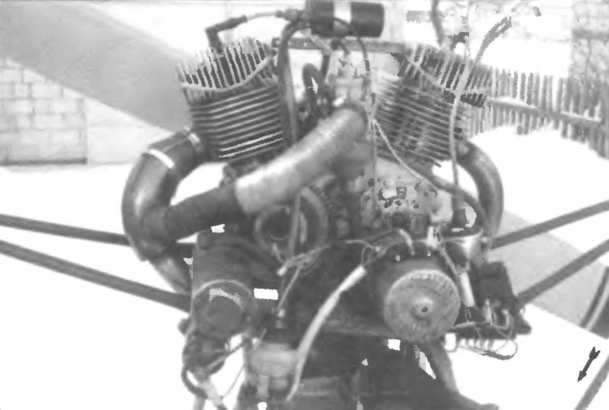 Фото 1. Двигатель Д-30