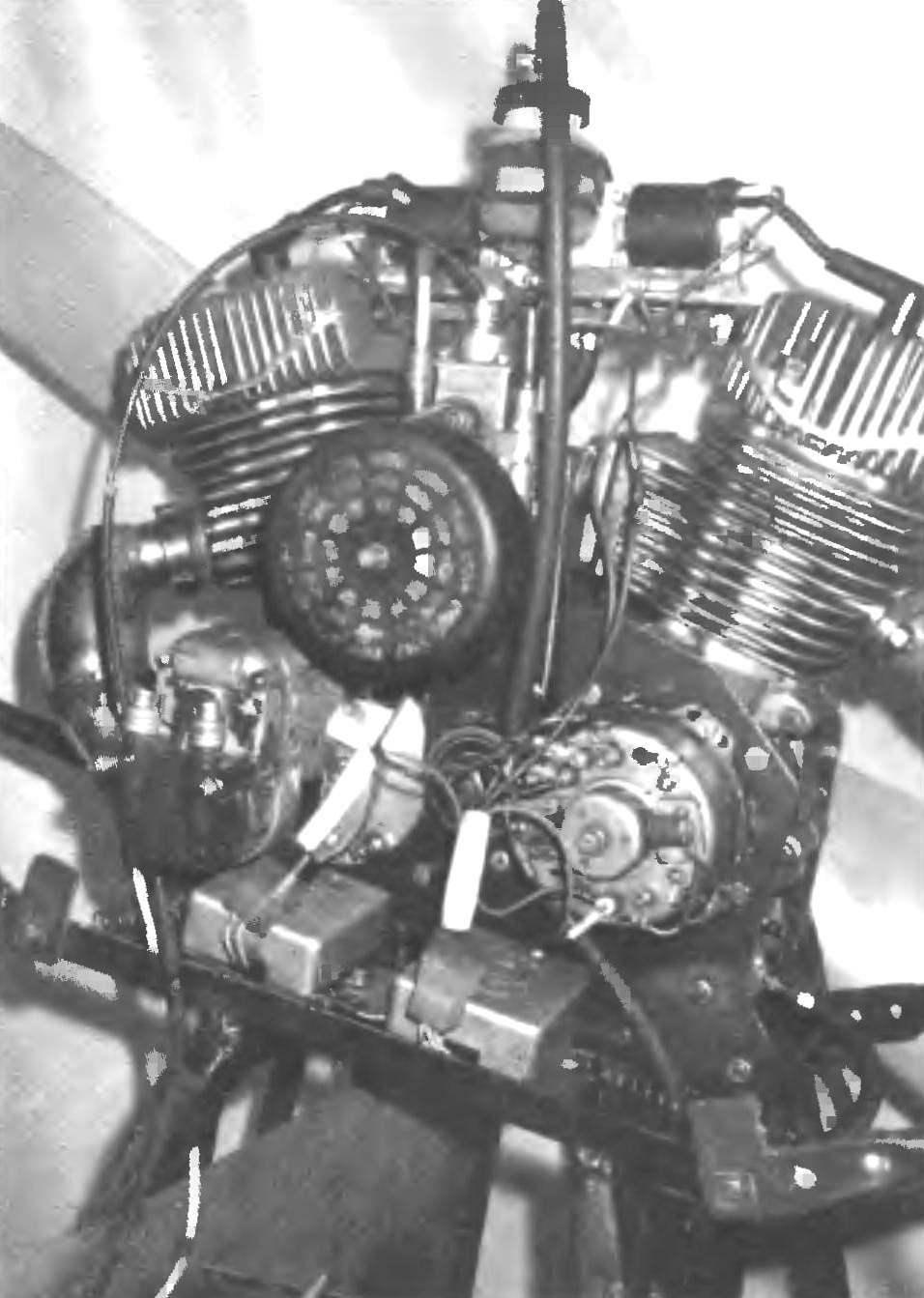 Фото 2. Д-30 с электронной системой зажигания