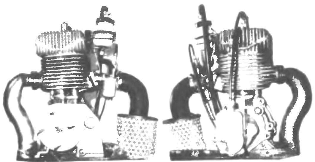 Фото 3. Д-15 (слева — вид сзади, справа — вид спереди)