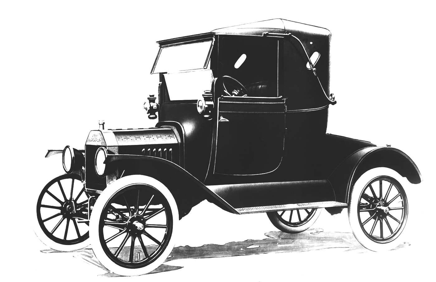 «Форд-Т» 1913 года с кузовом «родстер».