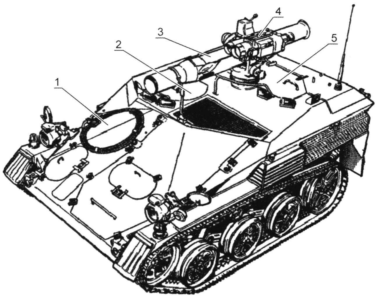 «Визель-2» с ПТРК TOW