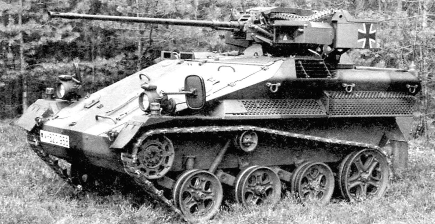 «Визель» МК20 А1 в варианте машины огневой поддержки имела одноместную башню, вооружённую 20-мм автоматической пушкой Мк20 Rh 202 «Рейнметалл»