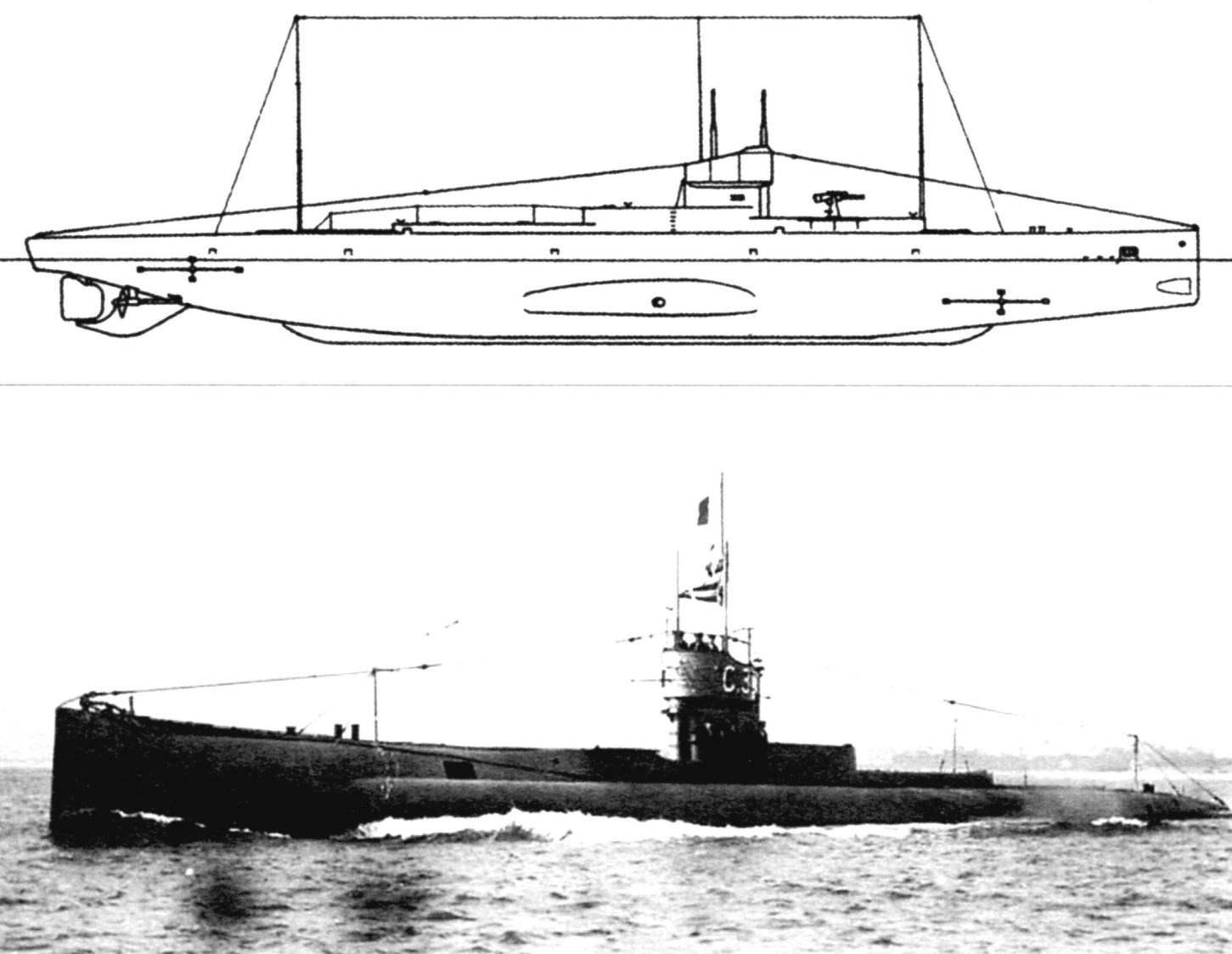 Подводная лодка «G-2» (Англия, 1916 г.)