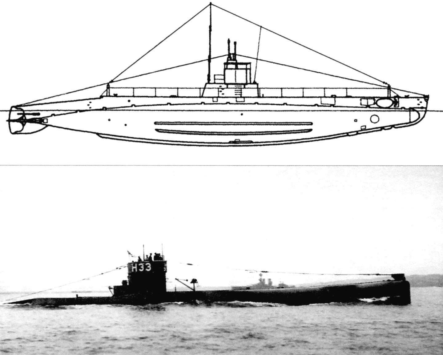 Подводная лодка «Н-4» (Англия, 1909 г.)