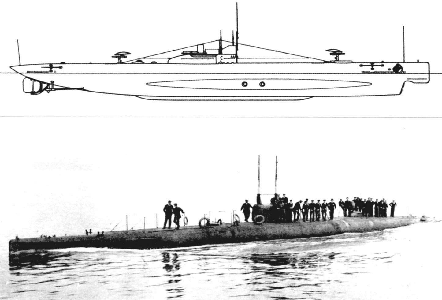 Подводная лодка «S-1» (Англия, 1914 г.)