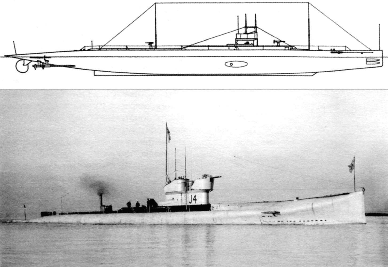Подводная лодка «J-1» (Англия, 1916 г.)