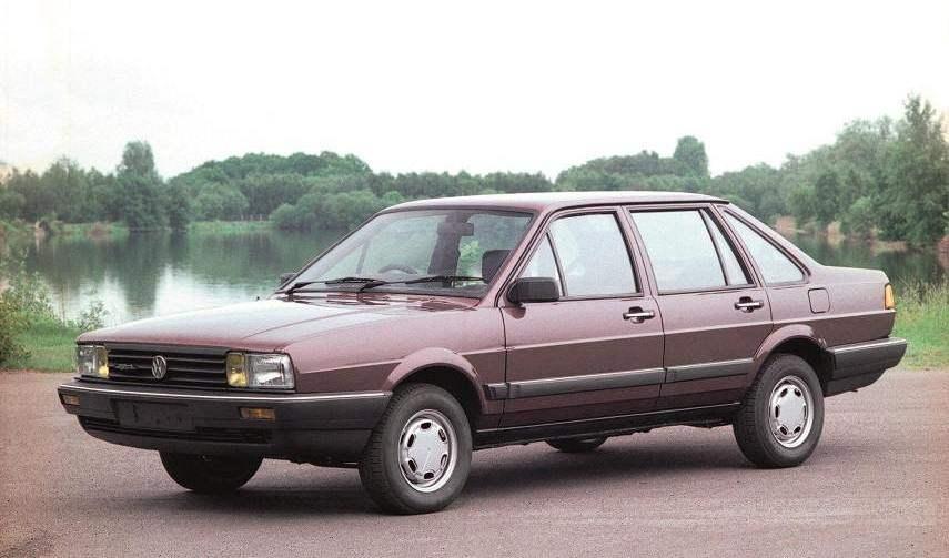 VW PASSAT SANTANA the second generation (1980)