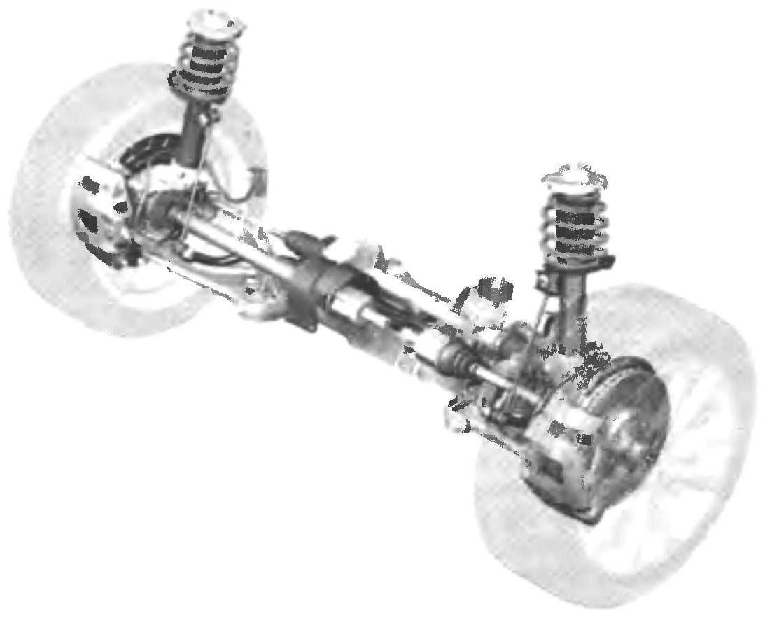 Front suspension new VW PASSAT with racks McPherson