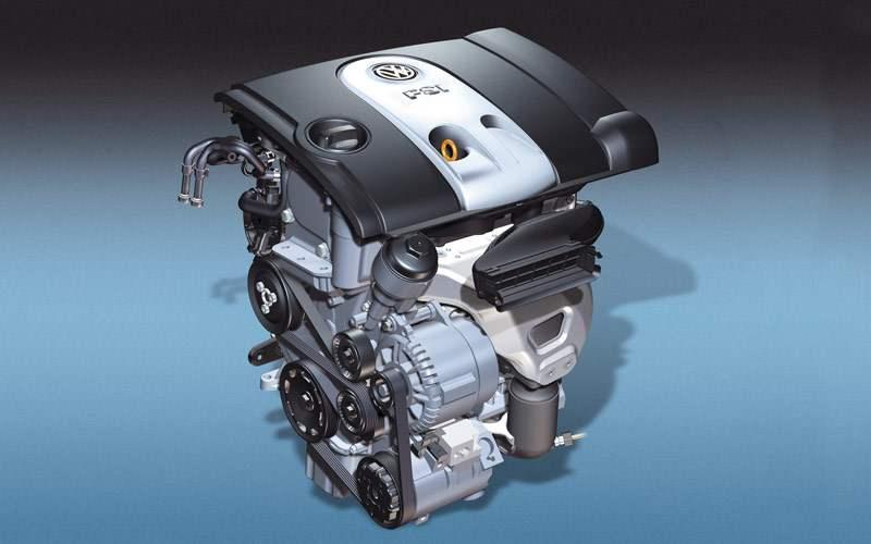 Один из двигателей нового VW PASSAT 1.6 FSI мощностью 115л.с.