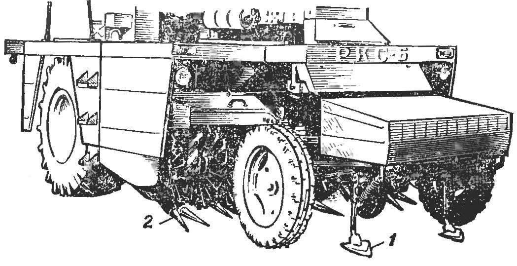 Свеклоуборочный комбайн РКС-6