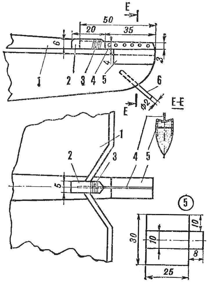 Рис. 2. Устройство детермализатора