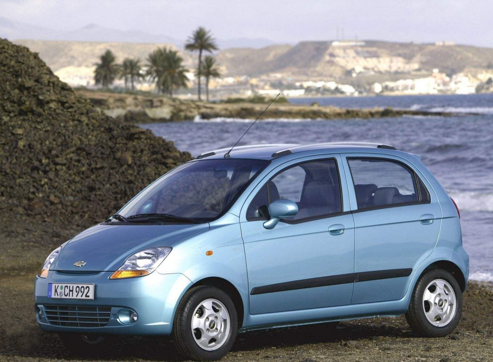 CHEVROLET SPARK выпуска 2005 года — автомобиль европейского размерного класса A