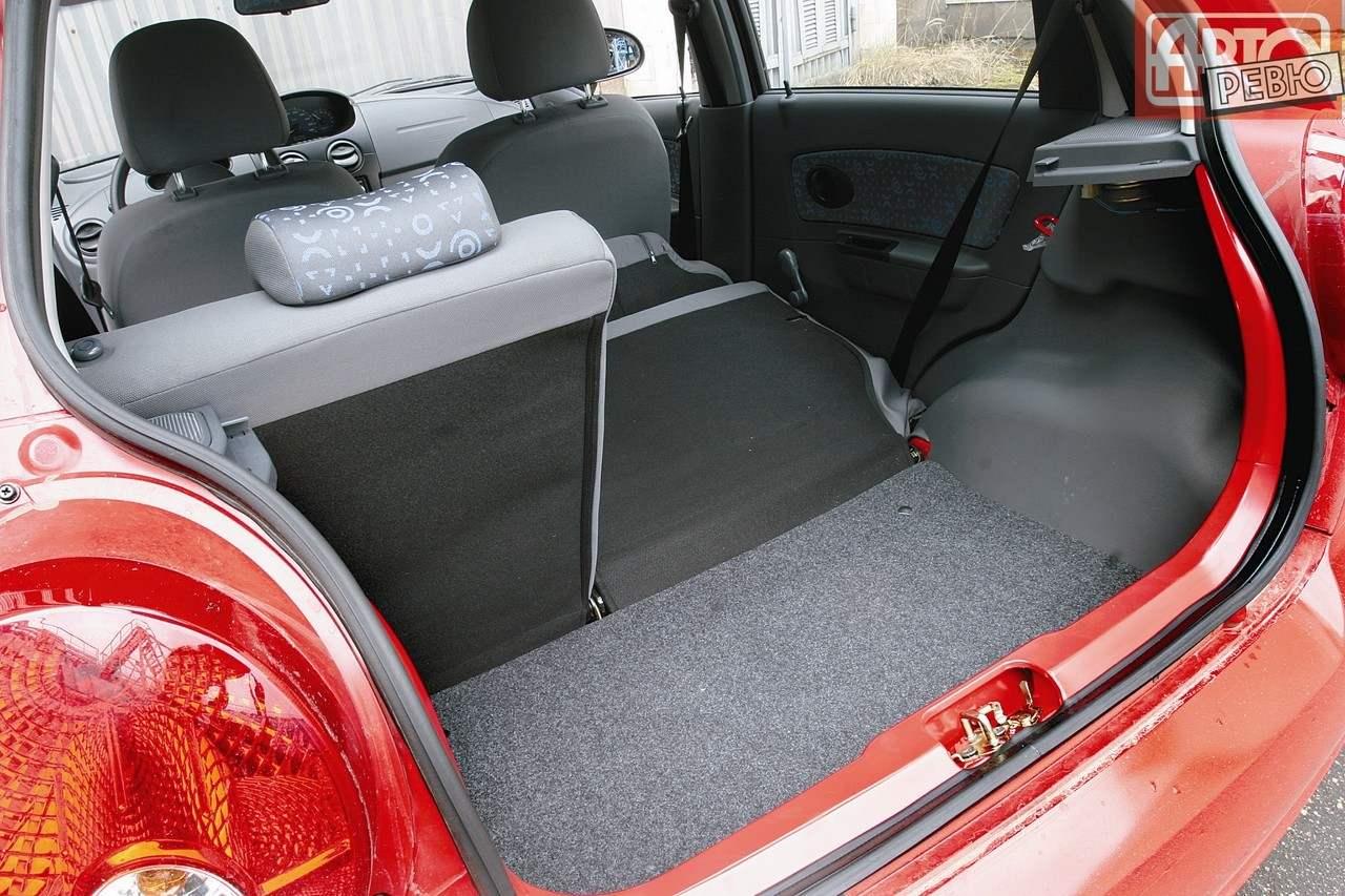Багажник в 170-литровом варианте