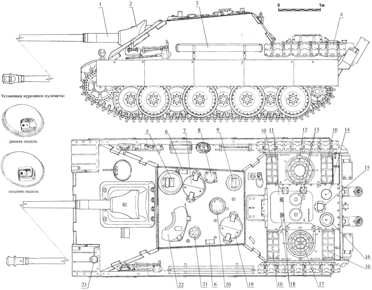 Самоходная артиллерийская установка «Ягдпантера»