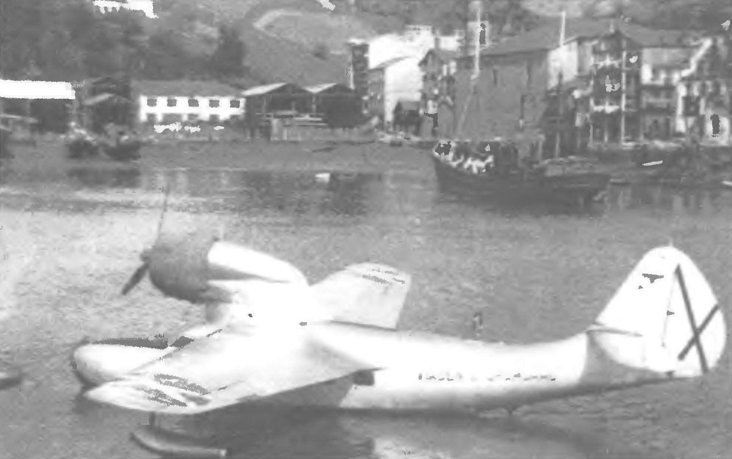 F-91, пришвартованная к стояночному бую