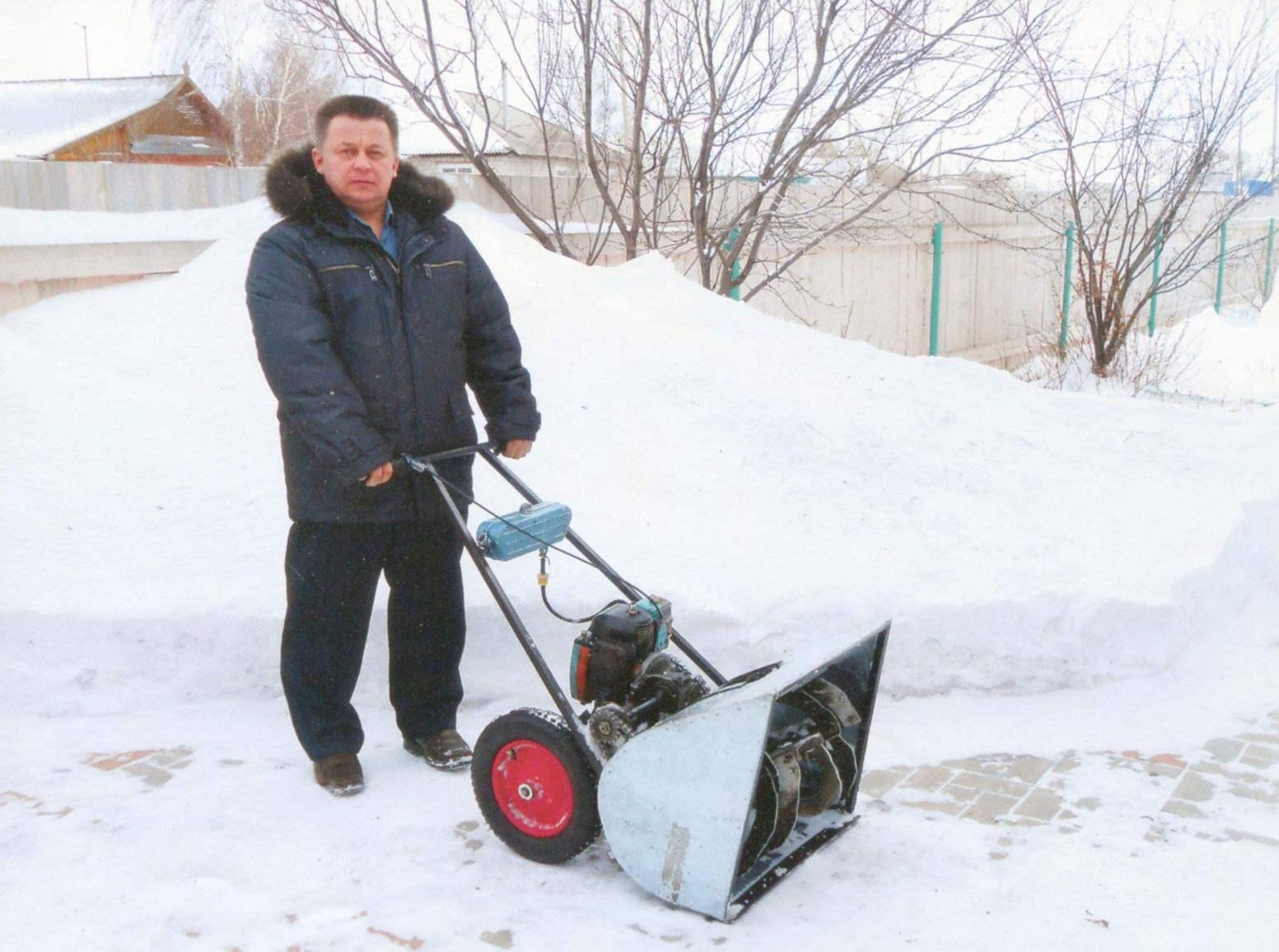 Снегоуборочная машина своими руками: достойная альтернатива 2