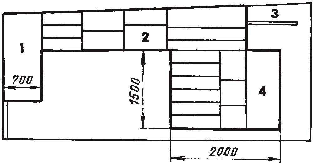 Fig. 9. The right-hand wall