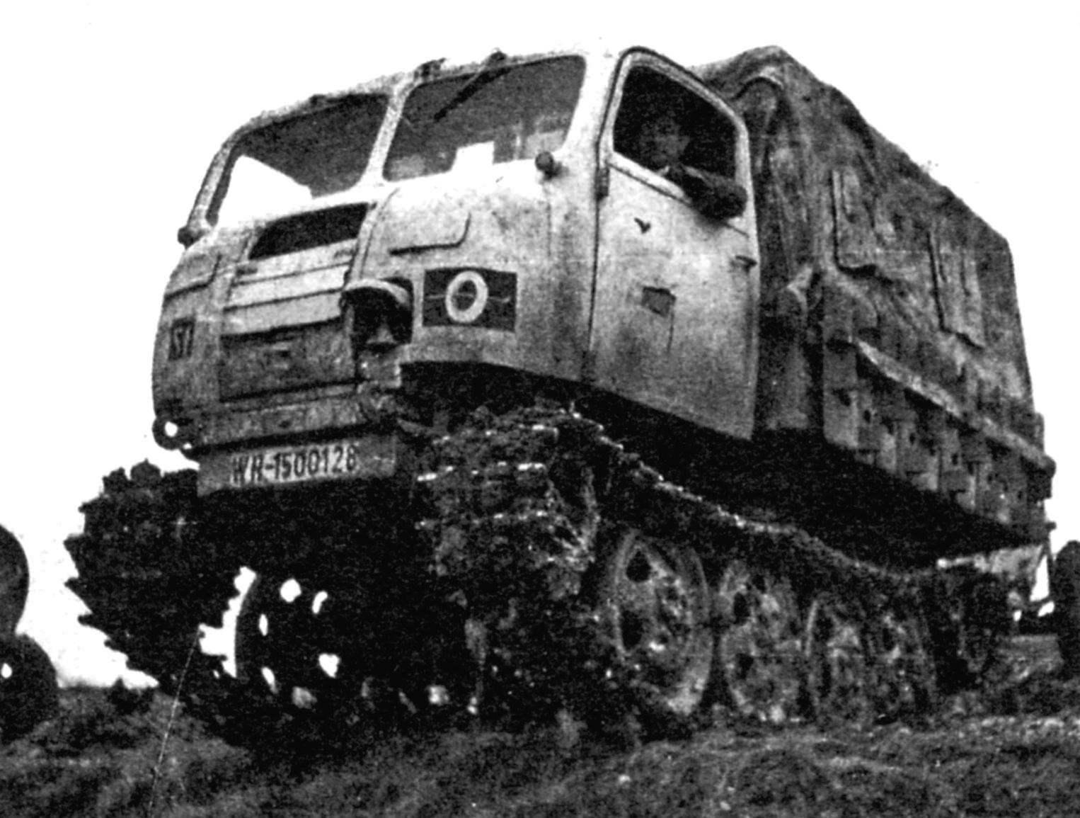 Трактор-тягач Raupenschlepper Ost (сокращённо RSO) типа наших артиллерийских гусеничных СТЗ-5 и «Сталинца». Масса - 3,8 т, тяговое усилие около 3 т.