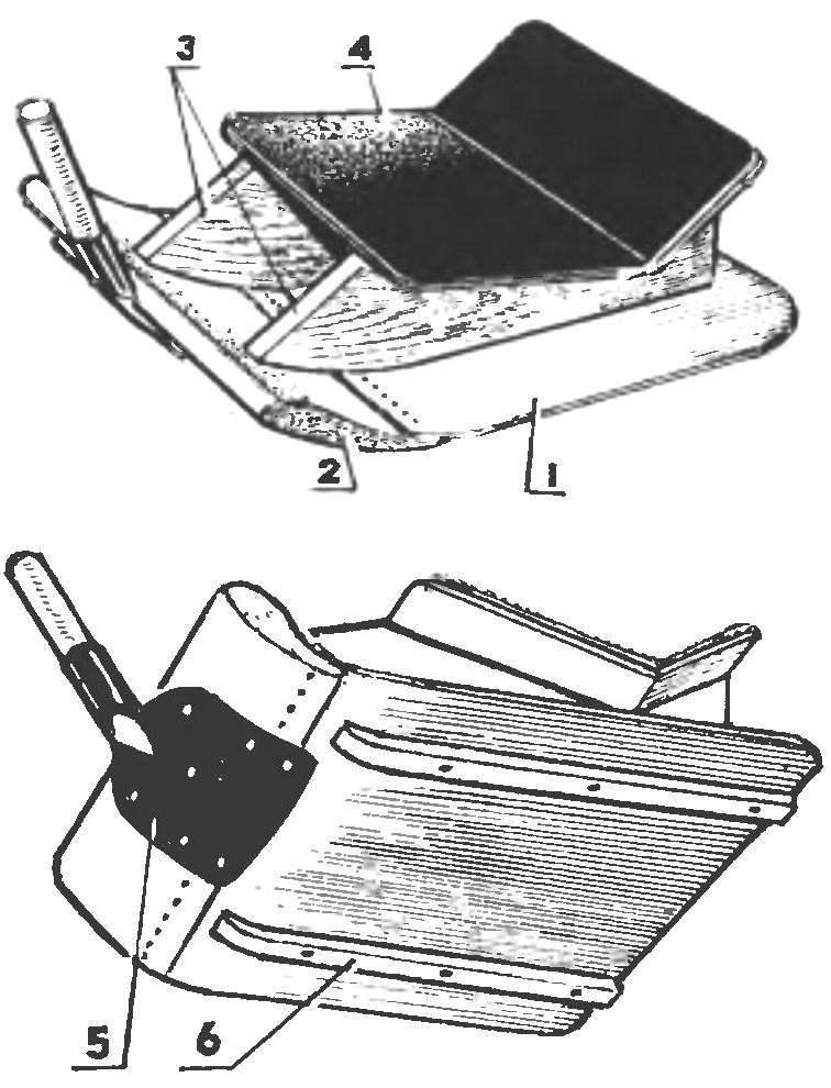 Рис. 3. Ледянка-стульчик