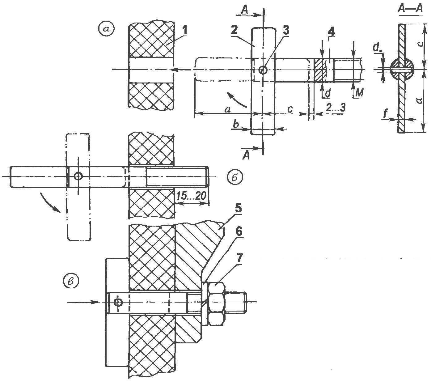 Крепление тяжелых навесных конструкций на тонкостенные перегородки щитового типа
