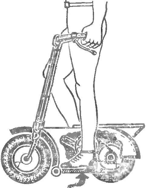 Рис. 9. Велосамокат.