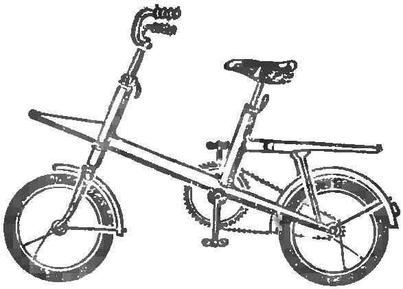 Fig. 1. Universal bike Bicycle single scheme.
