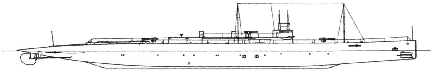 Субмарина «К-3» вскоре после ввода в строй