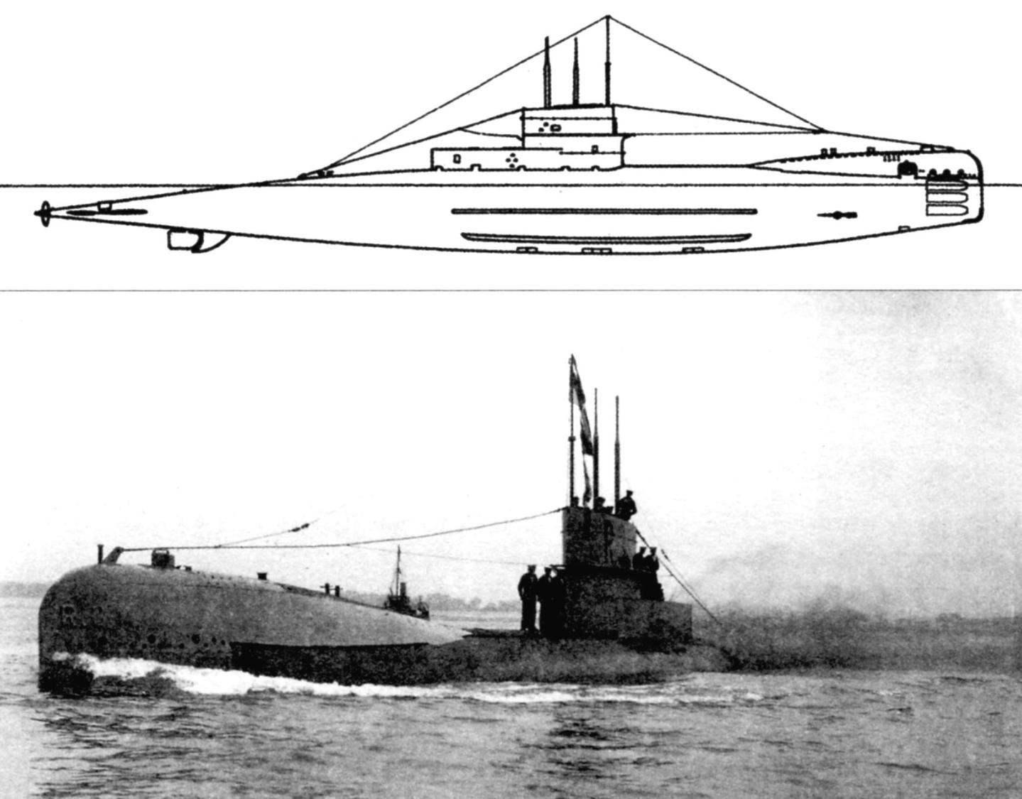 Подводная лодка «R-3» (Англия, 1918 г.)