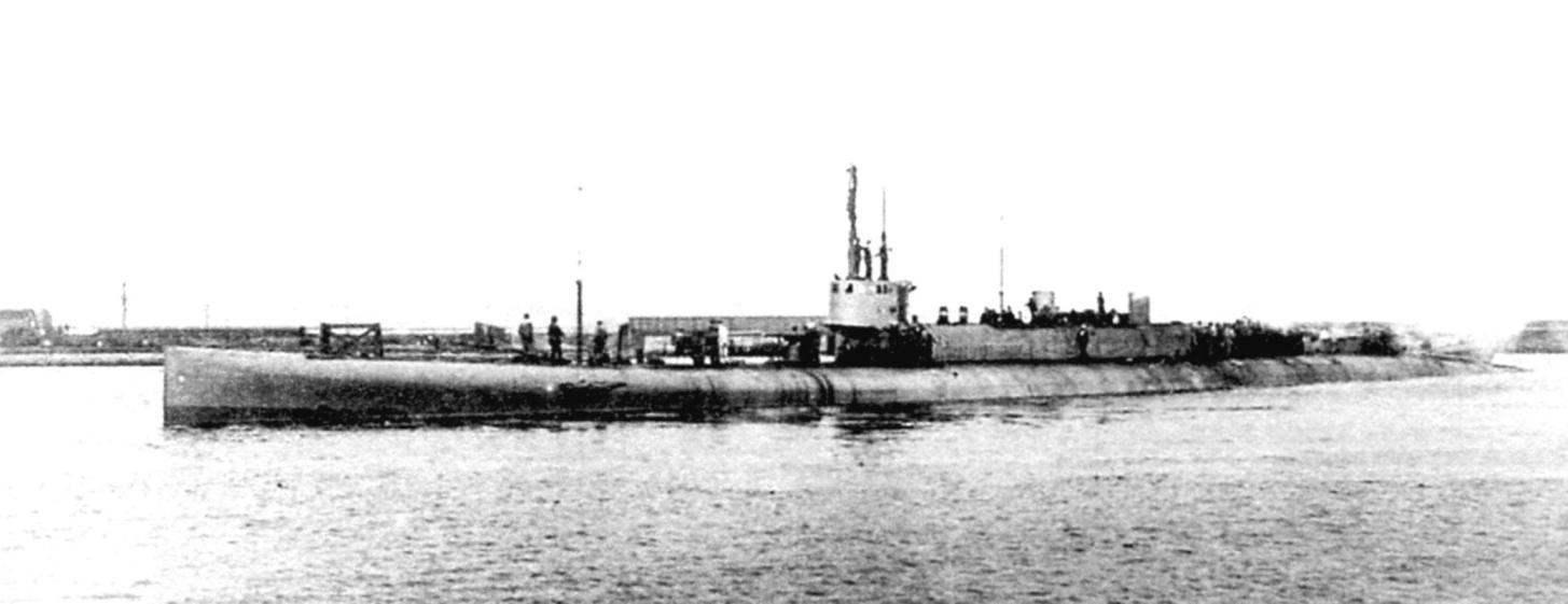 «Флотская» подводная лодка «К-3» (Англия, 1917 г.)