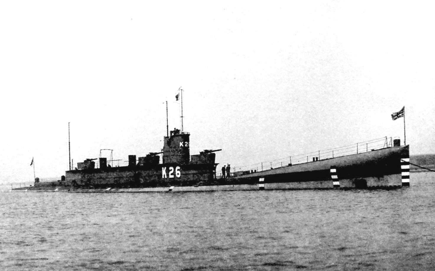 «К-26» - модернизированная конструкция субмарин типа «К»