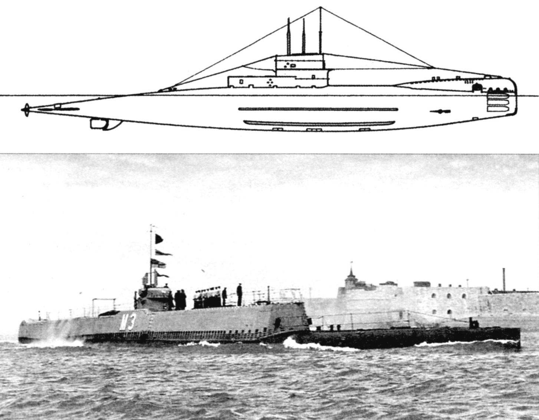 Подводная лодка-заградитель «М-3» (Англия, 1920 г., перестроена в 1928 г.)