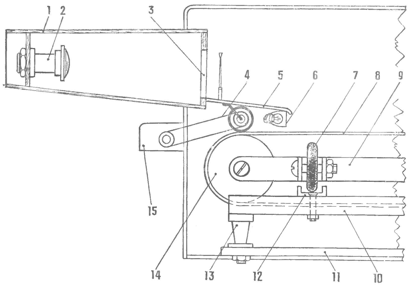 Рис. 2. Конструкция автотренажера