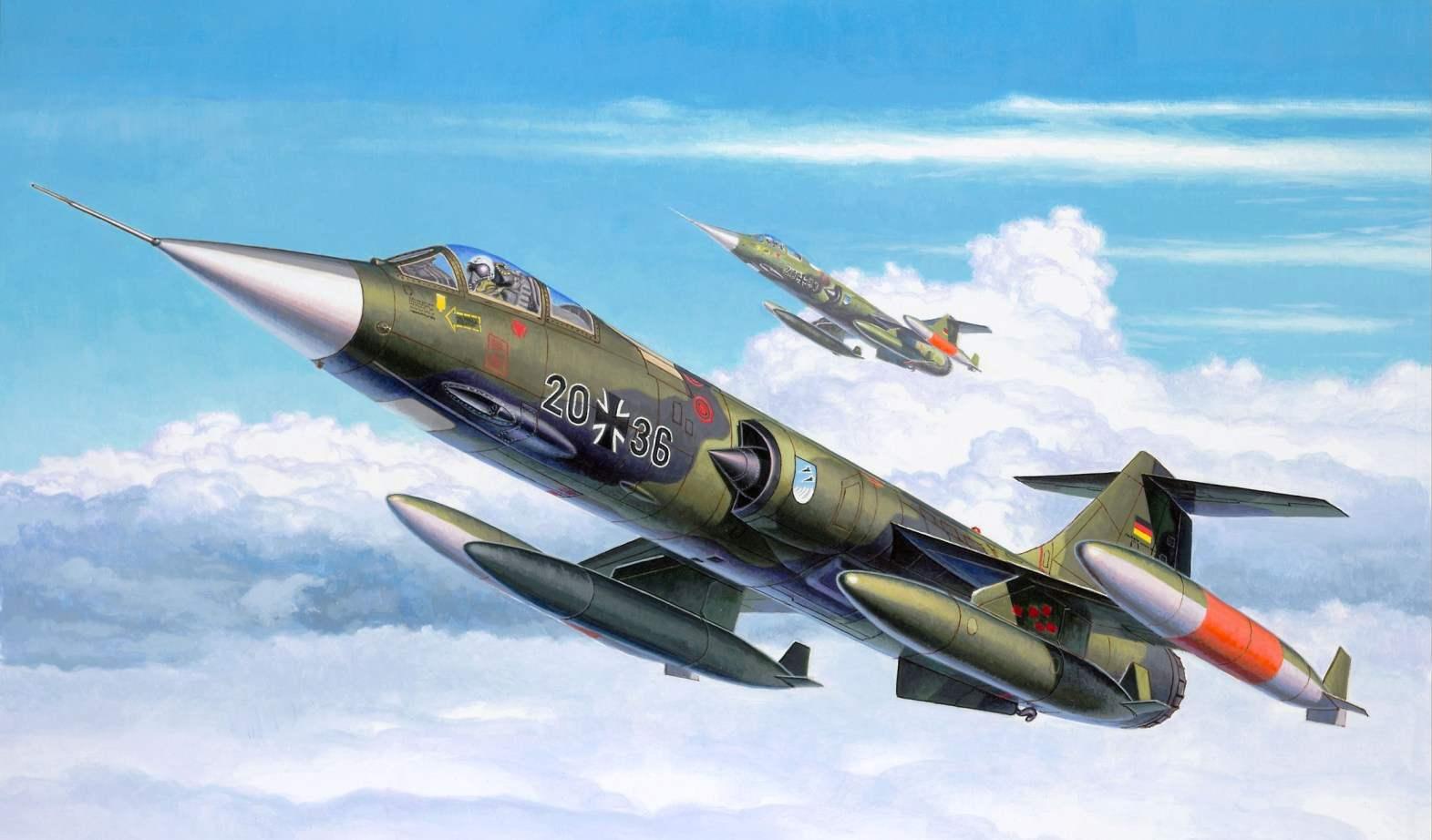 F-104 — «ЗВЕЗДНЫЙ БОЕЦ»