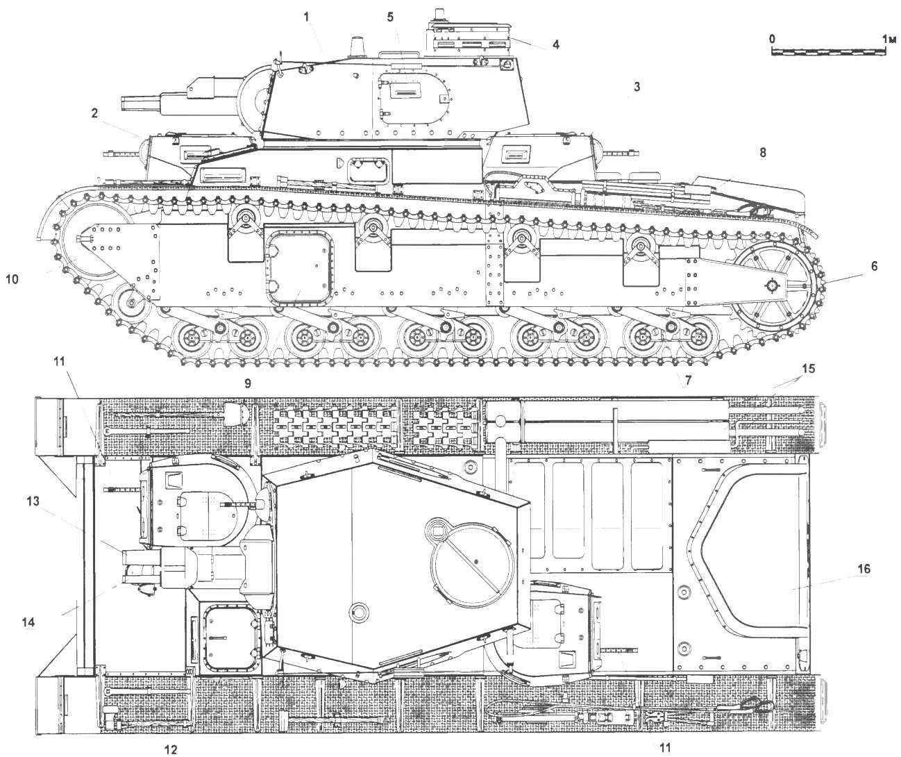 Средний танк Nb.Fz.