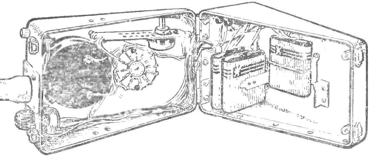 Рис. 3. Внутренний вид прибора.