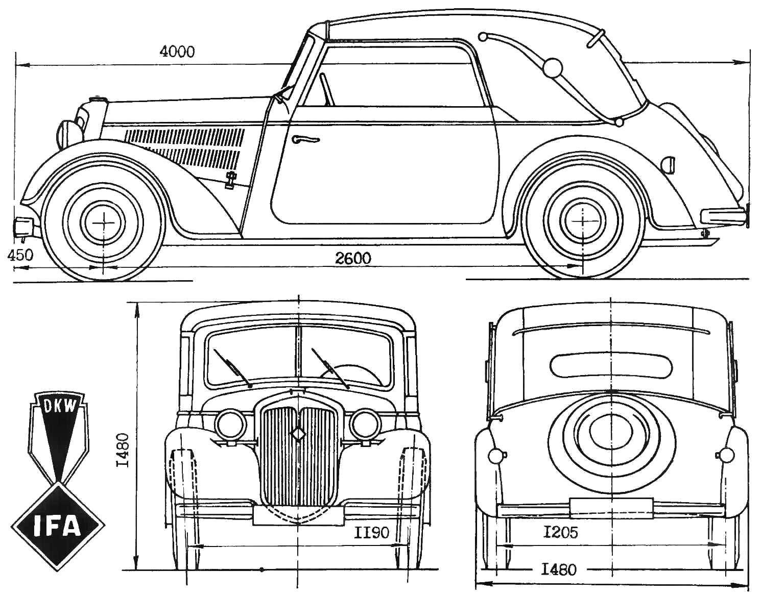 Автомобиль ИФА-ДКВ-Ф8